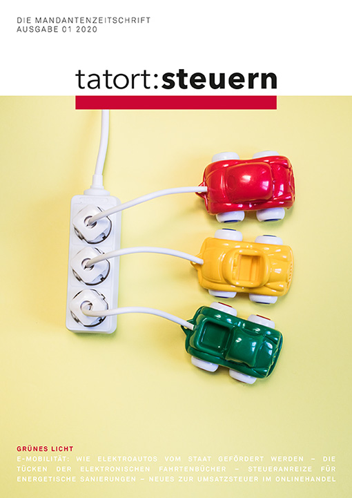 Cover Mandantenzeitschrift Ausgabe 01 2020