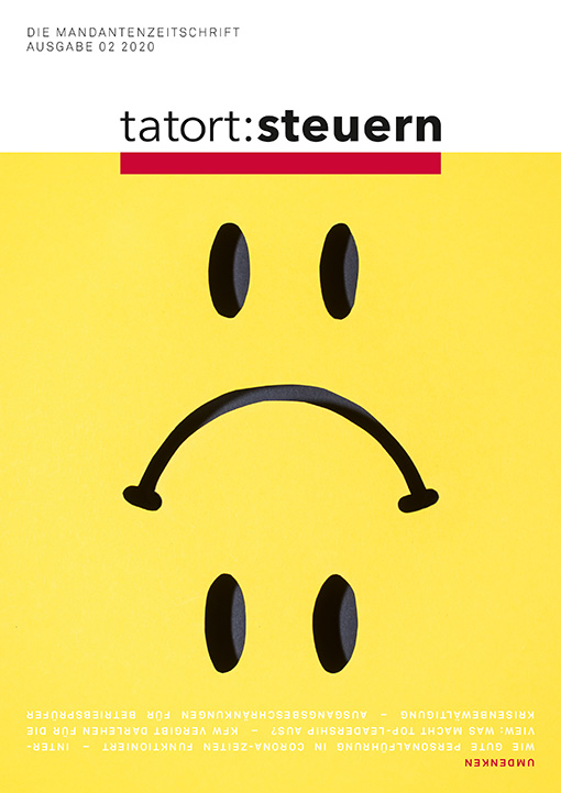 Cover Mandantenzeitschrift Ausgabe 02 2020