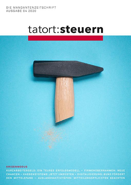 Cover Mandantenzeitschrift Ausgabe 04 2020