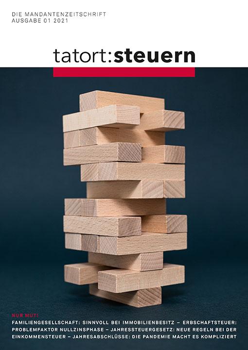 Cover Mandantenzeitschrift Ausgabe 01 2021